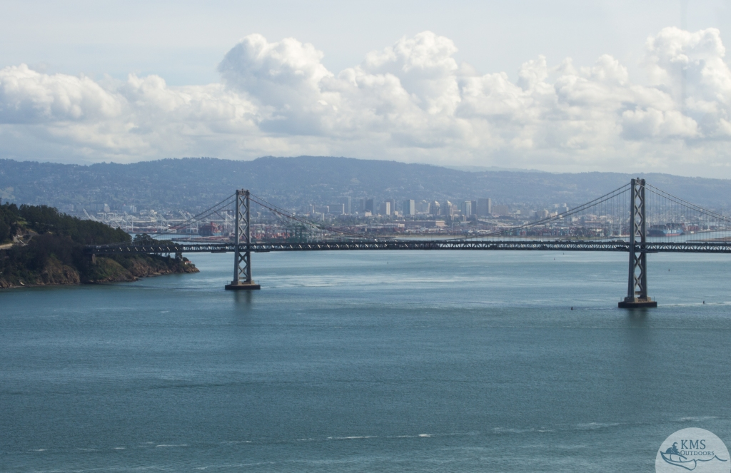 20150323 - bay bridge view after the climb to coit